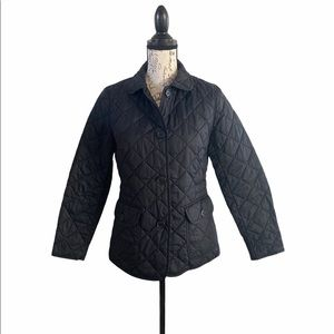 Gap Quilted Jacket with Buttons Women's size S